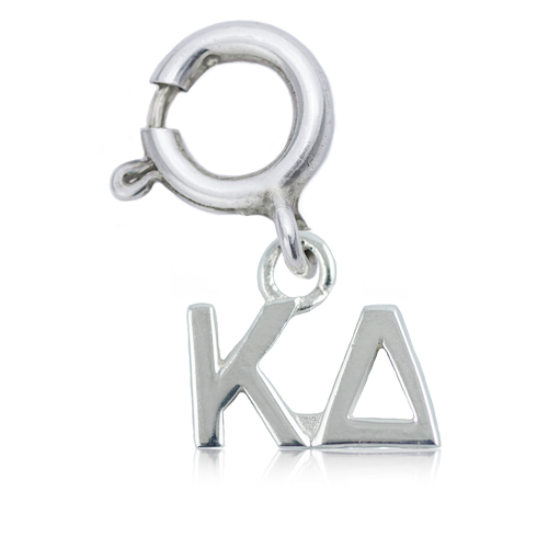 Sterling Silver Kappa Delta Charm