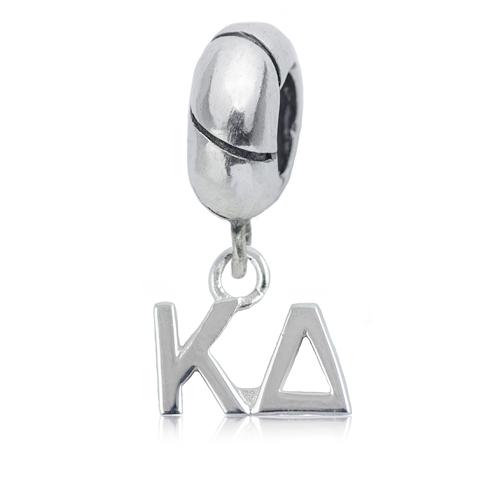 Sterling Silver Kappa Delta Charm Bead