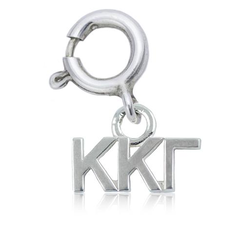 Sterling Silver Kappa Kappa Gamma Charm
