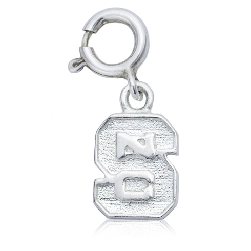 Sterling Silver 3/8in NC State Charm
