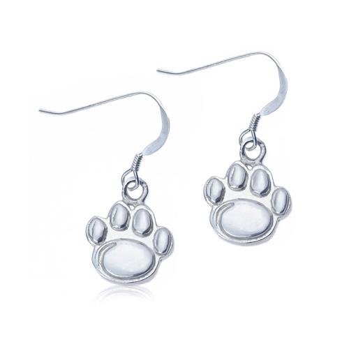 Sterling Silver Penn State University Dangle Earrings