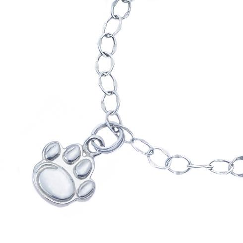 Sterling Silver Penn State University Charm Bracelet