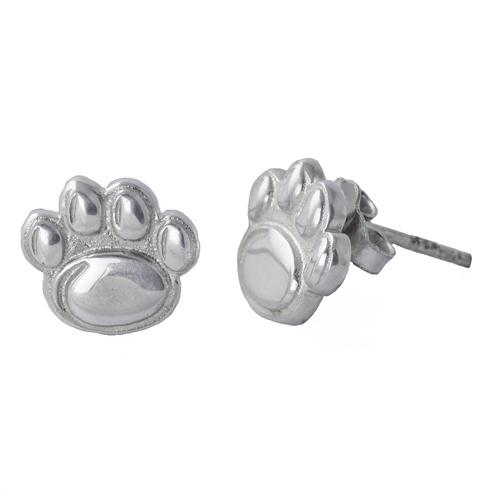 Sterling Silver Penn State University Post Earrings