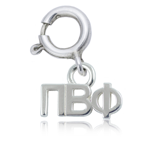Sterling Silver Pi Beta Phi Charm