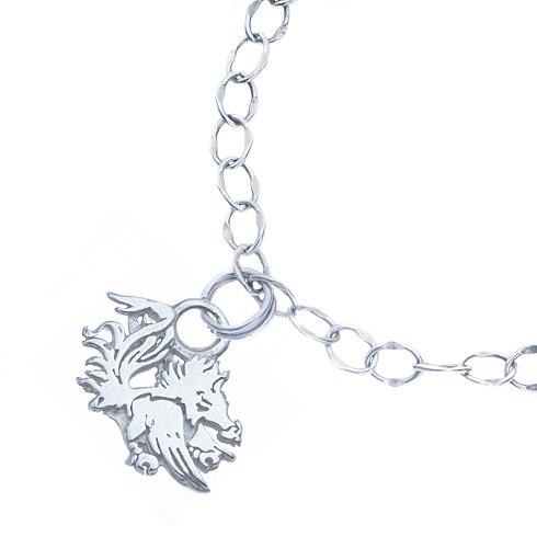 Sterling Silver University of South Carolina Charm Bracelet