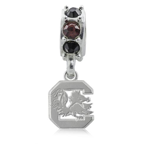 Sterling Silver South Carolina Spirit Charm Bead