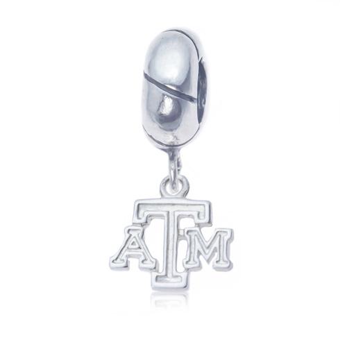 Sterling Silver Texas A&M Charm Bead