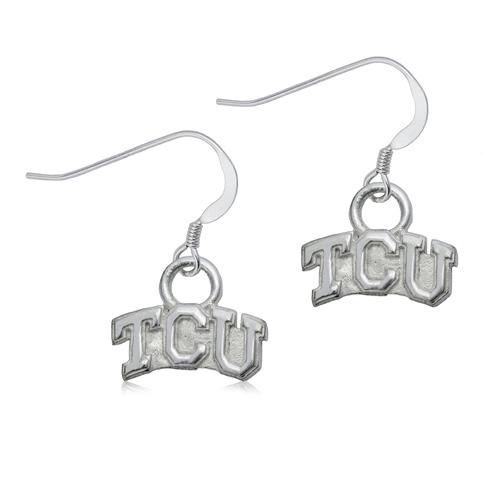Sterling Silver TCU Dangle Earrings