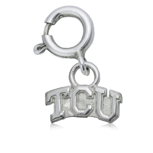 Sterling Silver 3/8in TCU Charm