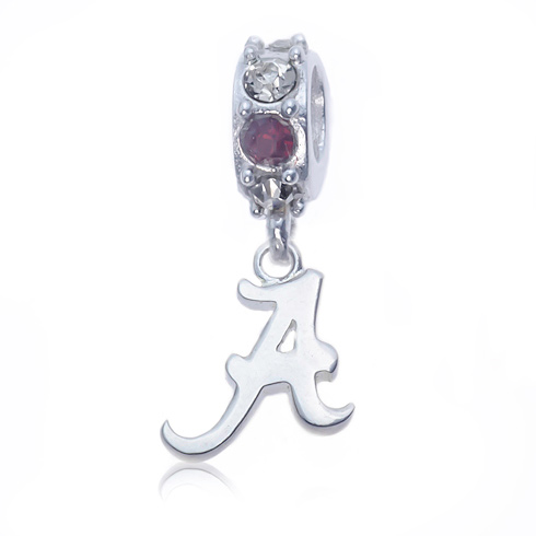 Sterling Silver Spirit Alabama Charm Bead