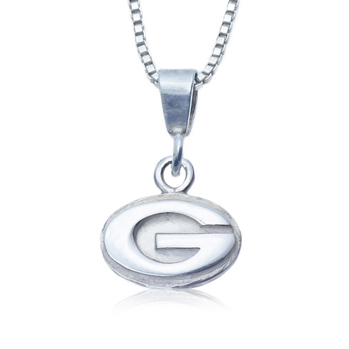Sterling Silver Charm Georgia Necklace