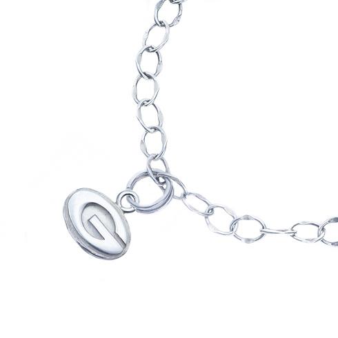 Sterling Silver Charm University of Georgia Bracelet