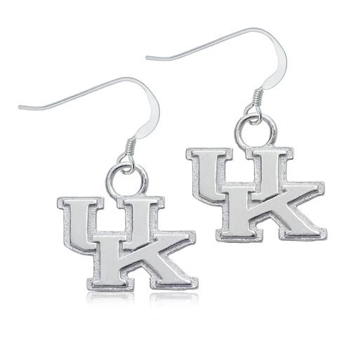 Sterling Silver University of Kentucky Dangle Earrings