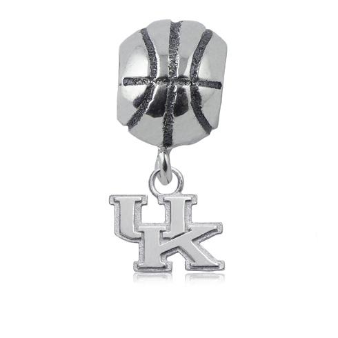 Sterling Silver University of Kentucky Basketball Bead