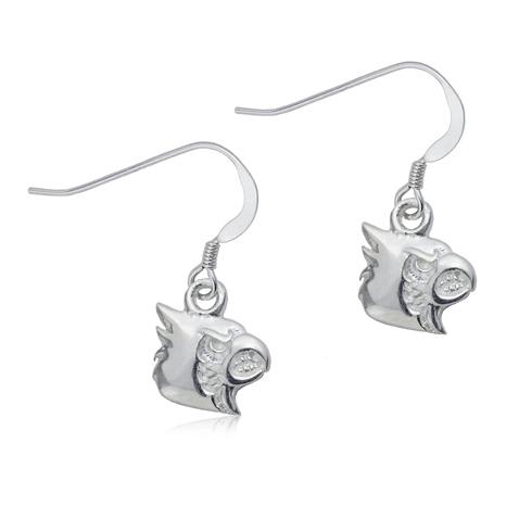 Sterling Silver University of Louisville Dangle Earrings