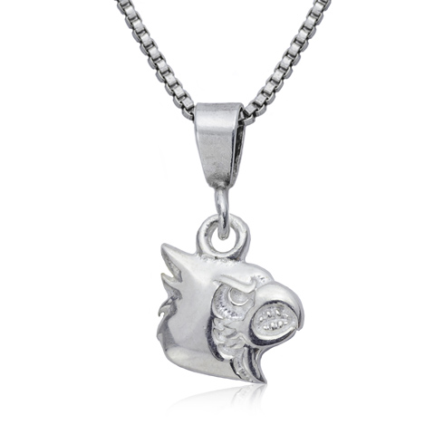 Sterling Silver University of Louisville Charm Necklace