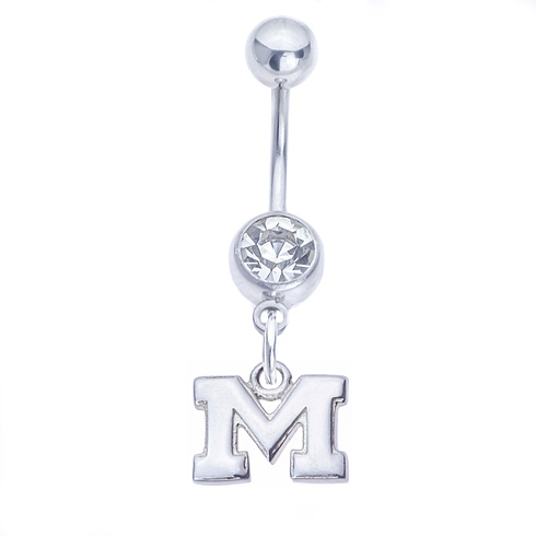 Michigan Belly Button Ring
