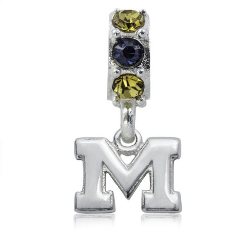 Sterling Silver Spirit Michigan Charm Bead