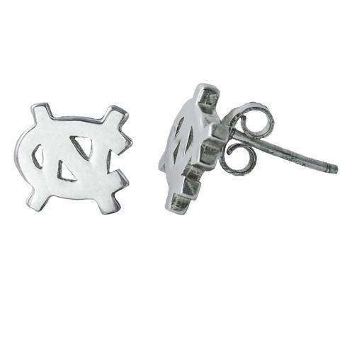 Sterling Silver North Carolina Post Earrings