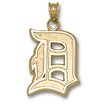 10kt Yellow Gold 11/16in Duquesne University D Pendant