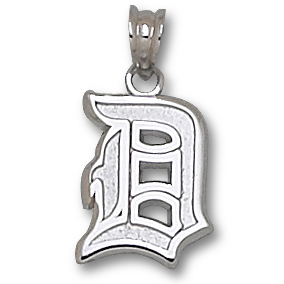 Sterling Silver 7/16in Duquesne D Charm