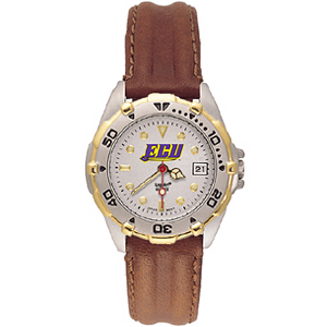 East Carolina Pirates Ladies' All Star Leather Watch