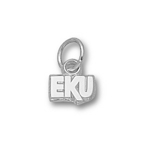 Eastern Kentucky Colonels 3/16in Sterling Silver Charm