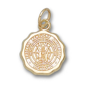 Eastern Kentucky Colonels 1/2in 14k Seal Pendant