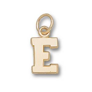 Eastern Kentucky Colonels 3/8in 14k E Charm