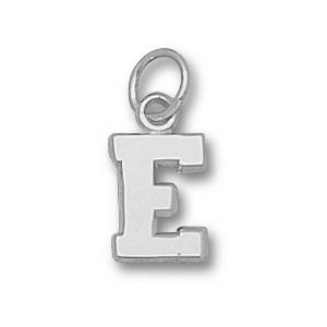 Sterling Silver 3/8in Eastern Kentucky E Charm