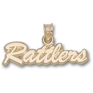 Rattlers 1/4in Pendant 14kt Yellow Gold