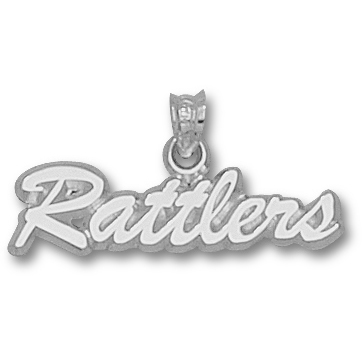 Rattlers 1/4in Pendant Sterling Silver