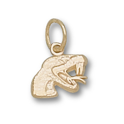 FAMU Rattlers 5/16in Pendant 10kt Yellow Gold