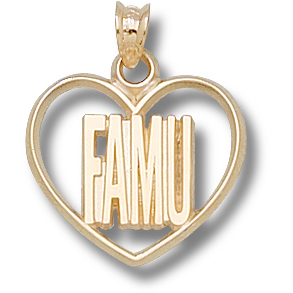 FAMU 5/8in Pendant 10kt Yellow Gold