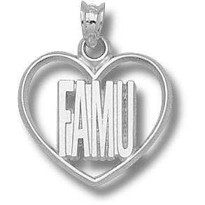 FAMU 5/8in Pendant Sterling Silver