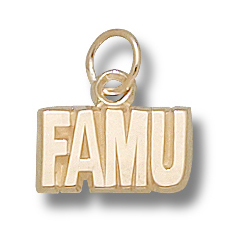 FAMU 1/4in Pendant 10kt Yellow Gold