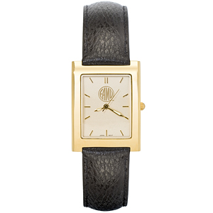 Florida A&M Men's Square Elite Leather Watch - Clearance