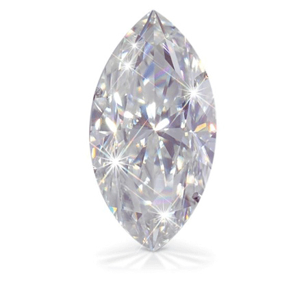 Forever Brilliant Moissanite Marquise Stone 4x2mm