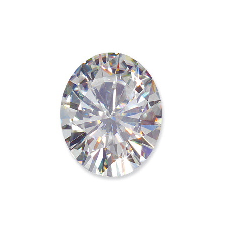Stella Moissanite Oval Stone 10x8mm