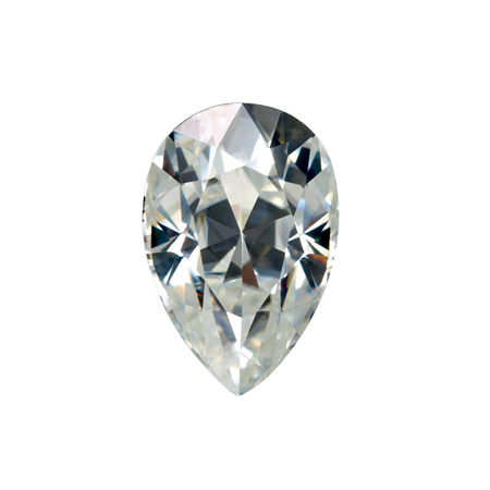 Forever Brilliant Moissanite Loose Pear Stone 10x7mm