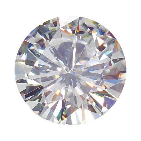 Forever Brilliant Moissanite Round Stone 8.5mm - 2.5ct