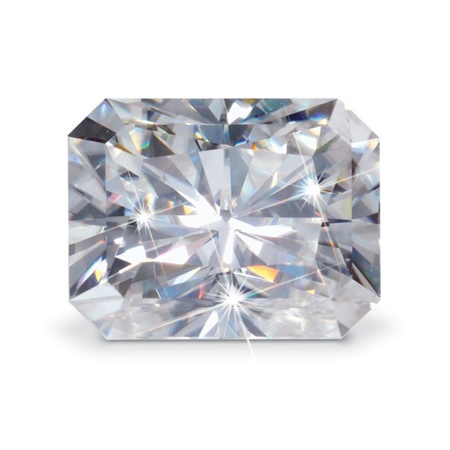 Forever Brilliant Moissanite Radiant Stone 7x5mm