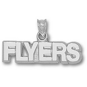 Philadelphia Flyers 1/4in Sterling Silver Team Pendant
