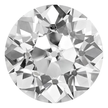 Forever Brilliant Moissanite Old European Cut Stone 4mm - .26ct