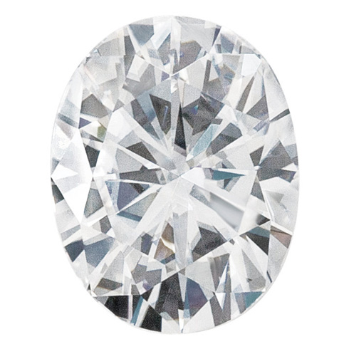 Forever One Moissanite Oval Stone 9x7mm - 2.25ct