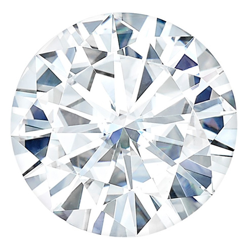 Forever One Moissanite Round Stone 10mm - 4 ct
