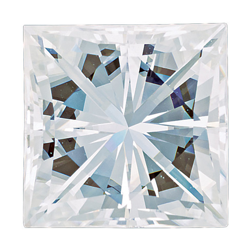 Forever One Moissanite Square Stone 4.0mm - .41ct