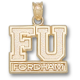 Fordham 1/2in Pendant 14kt Yellow Gold
