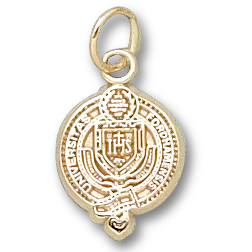 10kt Yellow Gold 1/2in Fordham University Seal Pendant