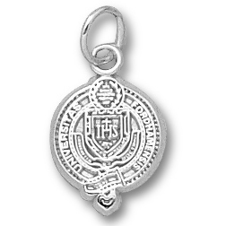 Sterling Silver 1/2in Fordham University Seal Pendant